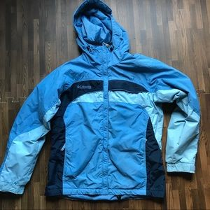 Columbia- Fleece lined ski jacket
